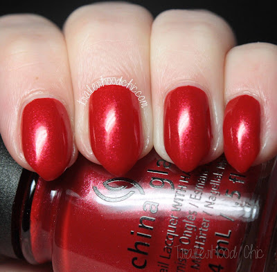 china glaze rebel swatches review y'all red-y for this