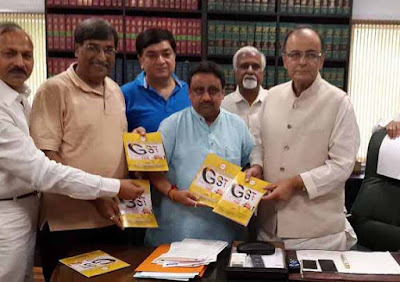 Arun Jaitley, Union Finance Minister India, Confederation of All India Traders, CAIT, Praveen Khandelwal, GST, Goods & Services Tax
