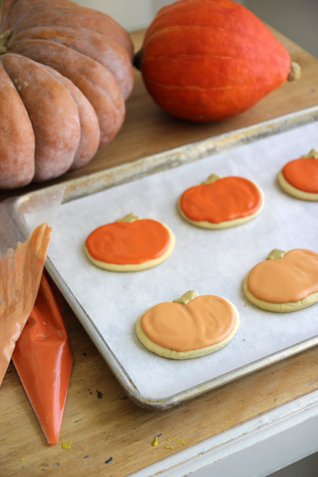 Halloween Themed Baby Shower Cookies.Jenny Steffens Hobick Heirloom Pumpkin Acorn Sugar Cookies