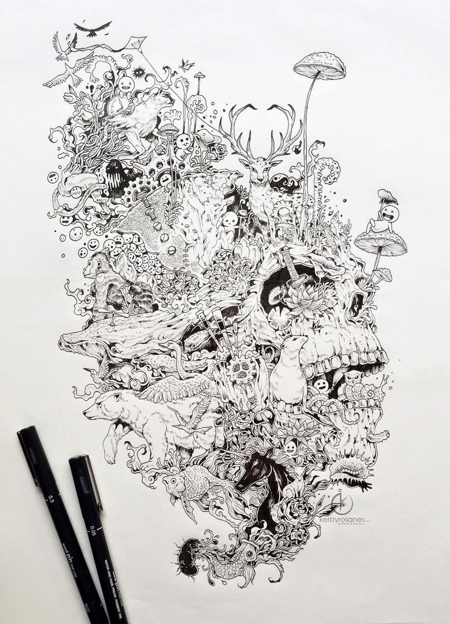 Perception Illusion Tattoo