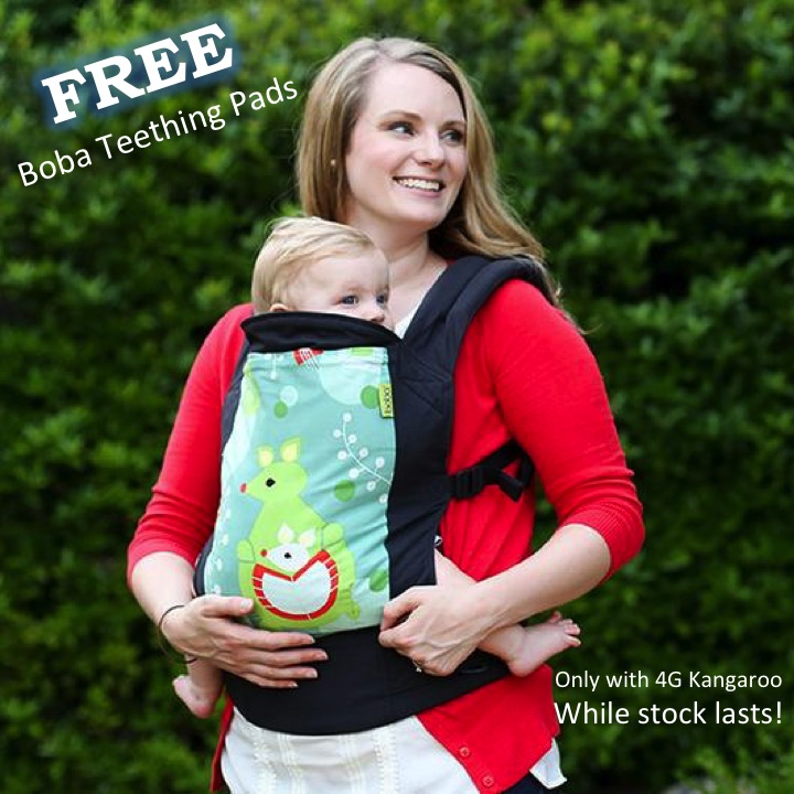 Boba 4G Kangaroo Soft Structured Carrier (SSC) for baby and toddler.
