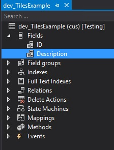 Step by step how to create tiles on the D365 - Asp Codder