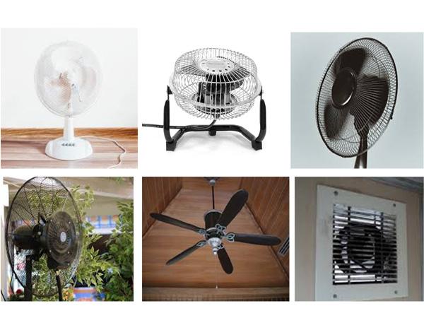 Terdapat beberapa Jenis Kipas Angin yang sering digunakan di rumah Mengenal Berbagai Jenis Kipas Angin