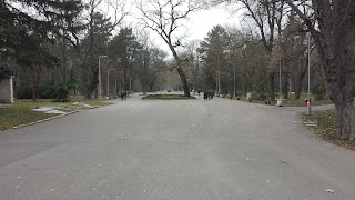 Path, One Kilometre, Length, Yambol City Park, Yambol,