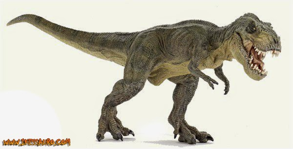 Green Running Papo Tyrannosaurus rex