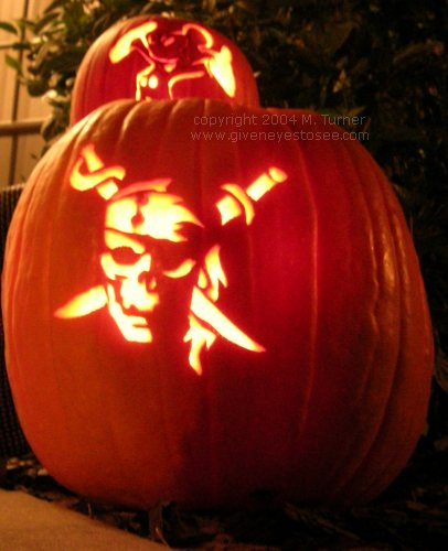 Ascending Butterfly Piratey Pumpkin Carving For All