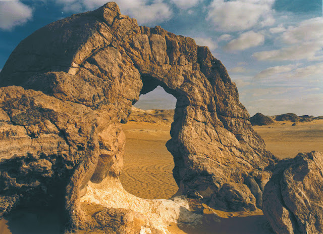 La Montaña de Cristal (Oasis de Farafra)