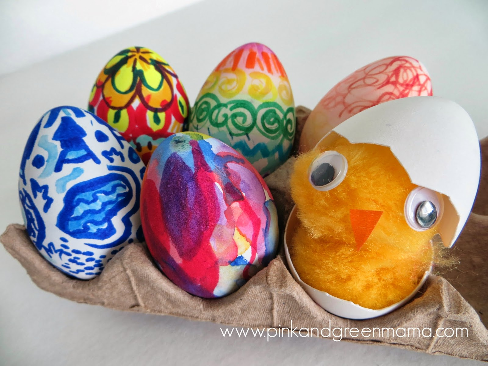 Pink And Green Mama Creative Kids Challenge Easter Eggs
