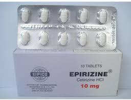 سعر ودواعى إستعمال أقراص أبيريزين Epirizine للحساسية