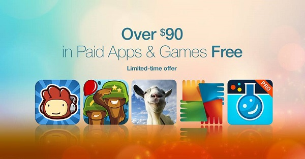 Amazon Appstore giving away 39 apps and games worth over $90 for FREE