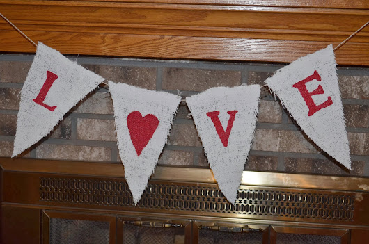 Valentine's Day Garland Part 2