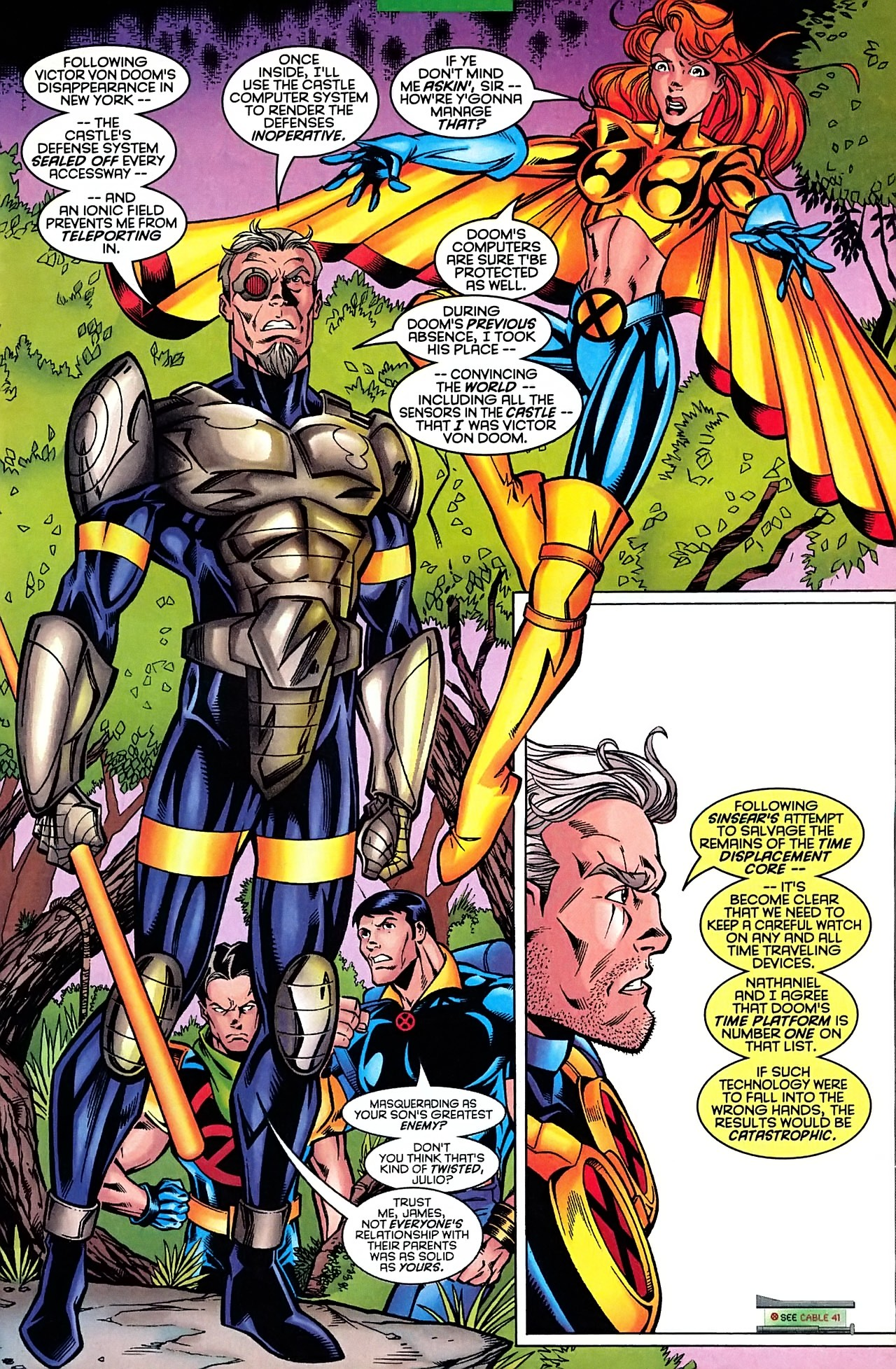 Read online X-Force (1991) comic -  Issue #63 - 13
