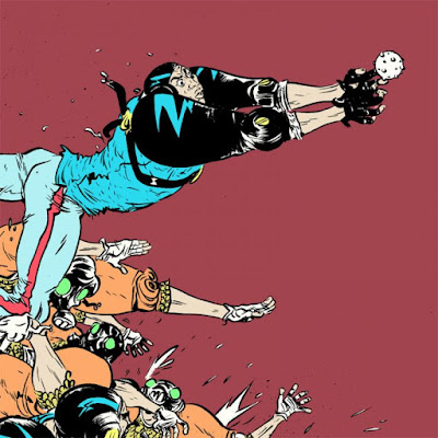 SXSW Flatstock 2018 Exclusive Zooball Regular Edition Screen Print by Paul Pope x Nakatomi