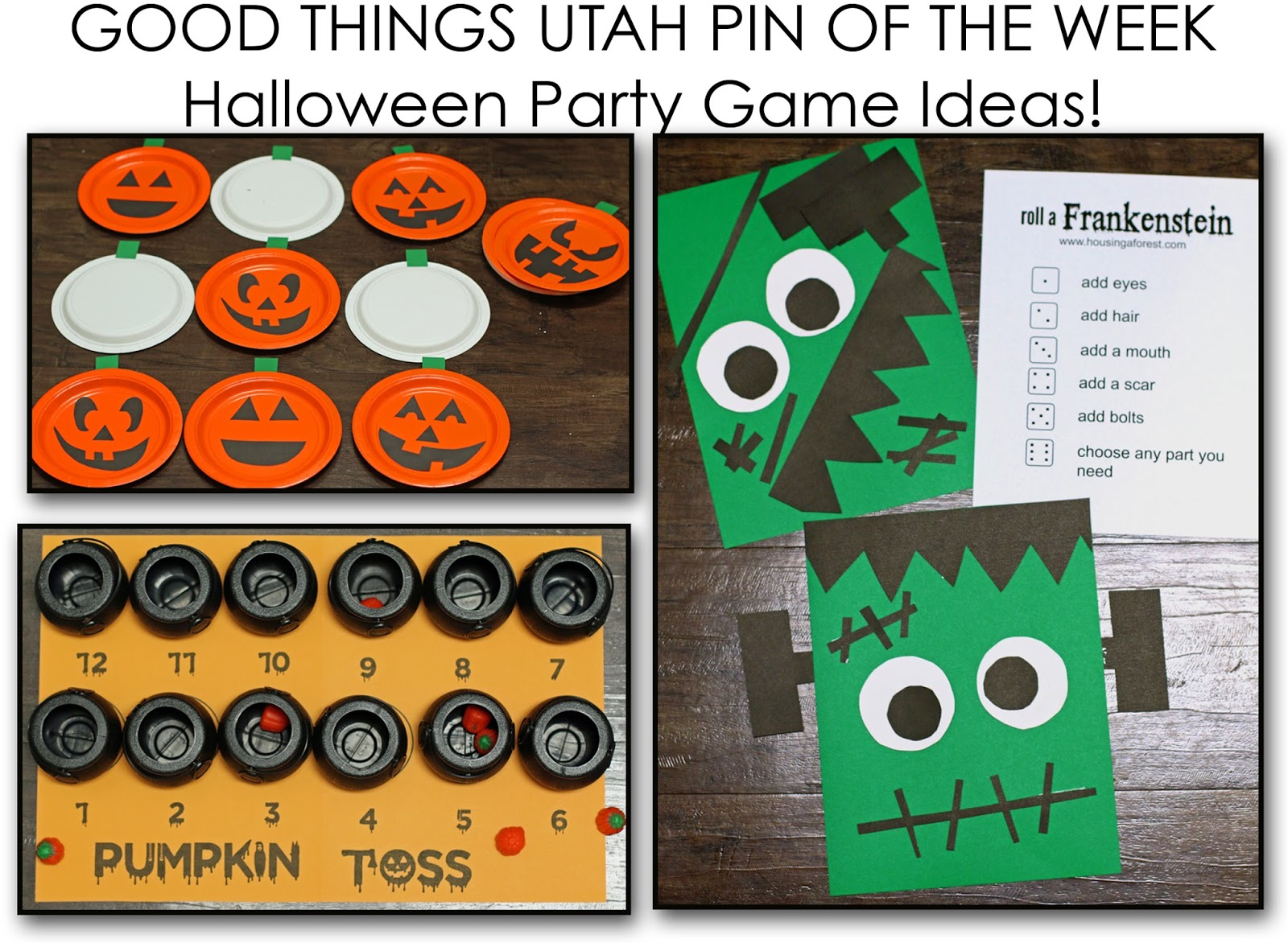 easy halloween party game ideas