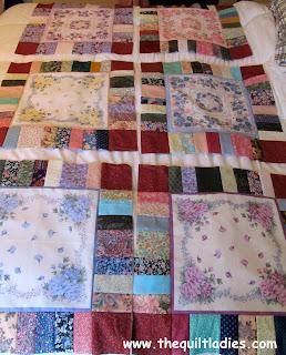 hankie quilt blocks