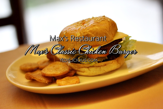 Max's Philippines Max's Classic Chicken Burger