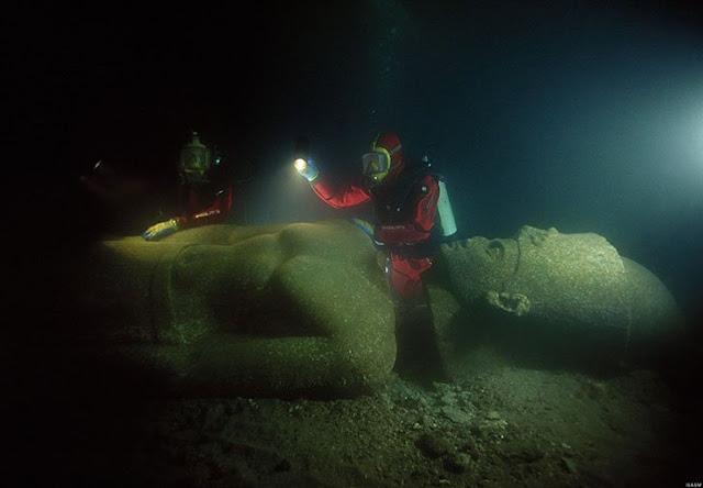 The Lost City Of Heracleion kota yang hilang ribuan tahun lalu
