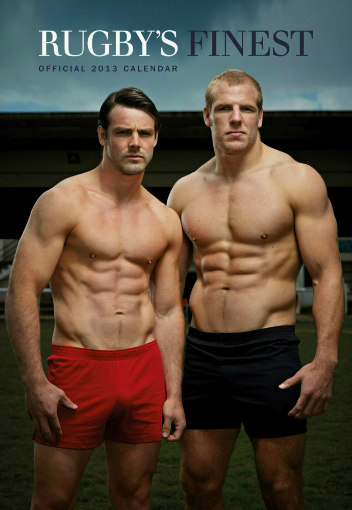 'Rugby's Finest' - 2013 • Ben Foden and James Haskell • Rugby Union Players