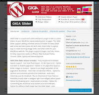 GIGA Slider, otro interesante plugin de WordPress para pase de 'diapositivas'
