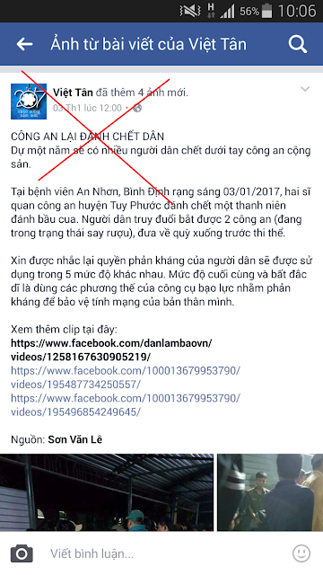 Cái chết bí ẩn của thanh niên Bình Định và sự vu oan cho lực lượng công an