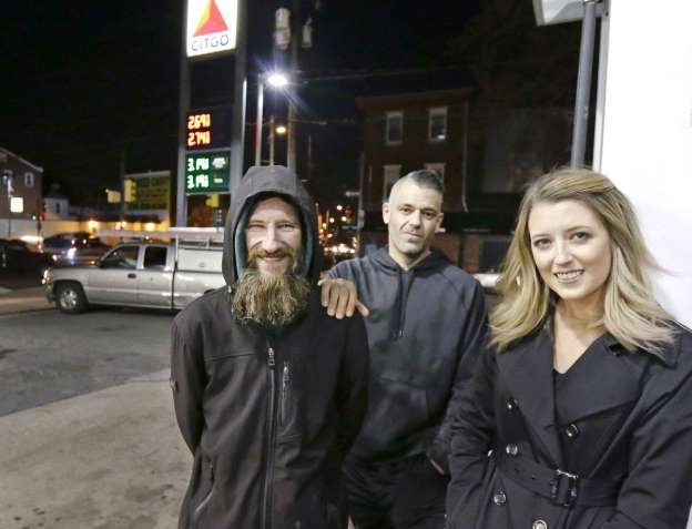 Woman raises $160,000 for homeless man who helped her