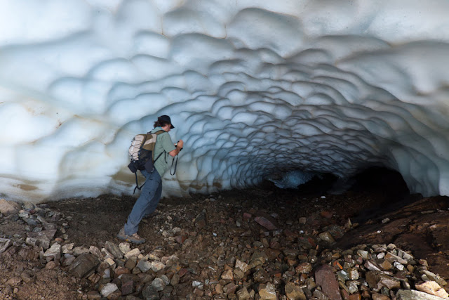 Ice Tunnels in Argentina