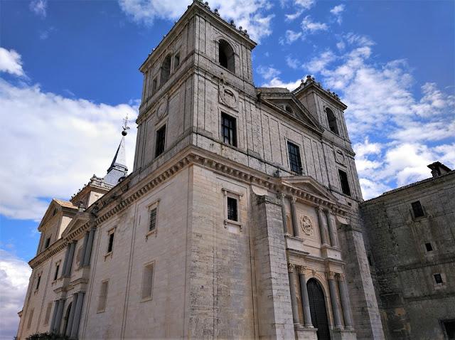 Monasterio de Uclés, fachada herreriana
