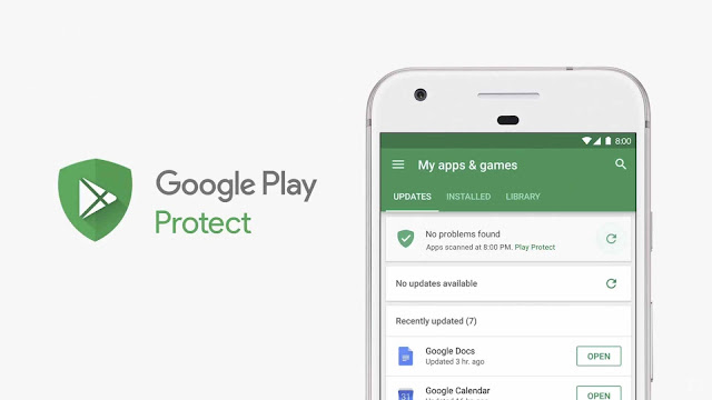 Mengaktifkan Google Play Protect di HP Android