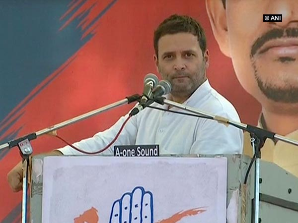 GST is 'Gabbar Singh Tax,' says Congress vice-president Rahul Gandhi
