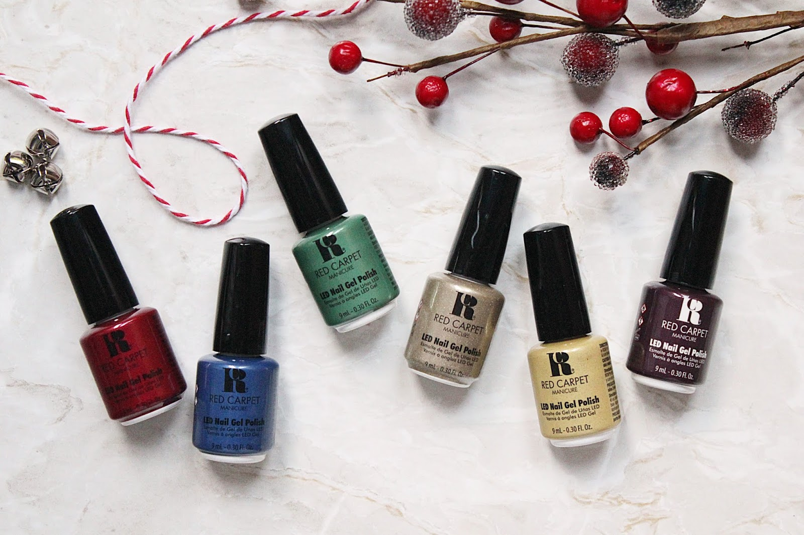 Red Carpet Manicure Holiday Collection