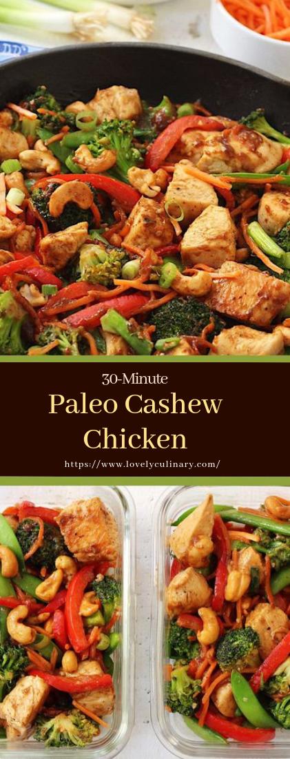 Paleo Cashew Chicken #healthyfood #dietketo