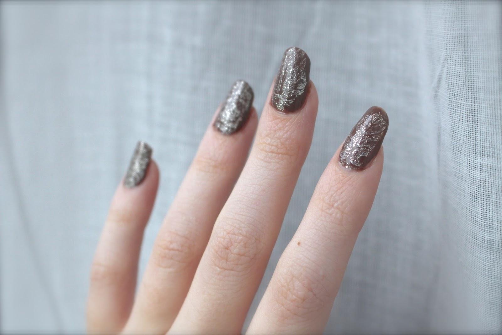 MoYou Nail Art OPI Taupe