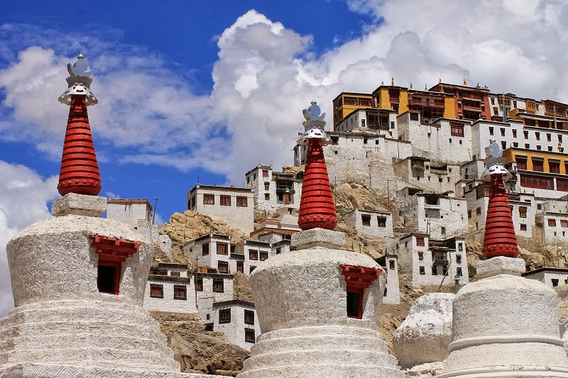 Beautiful Thikse Monastery – the Spiritual Retreat in India