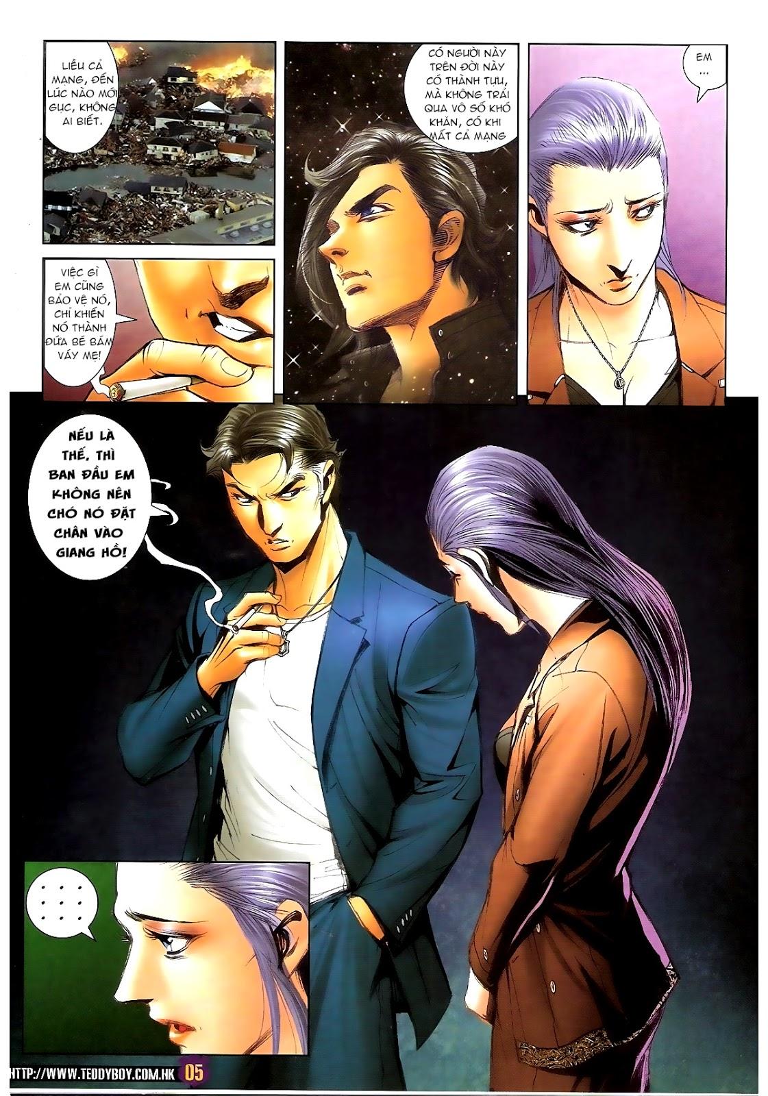 Người Trong Giang Hồ - Chapter 1388: Khí diệm Hoàng giả - Pic 4