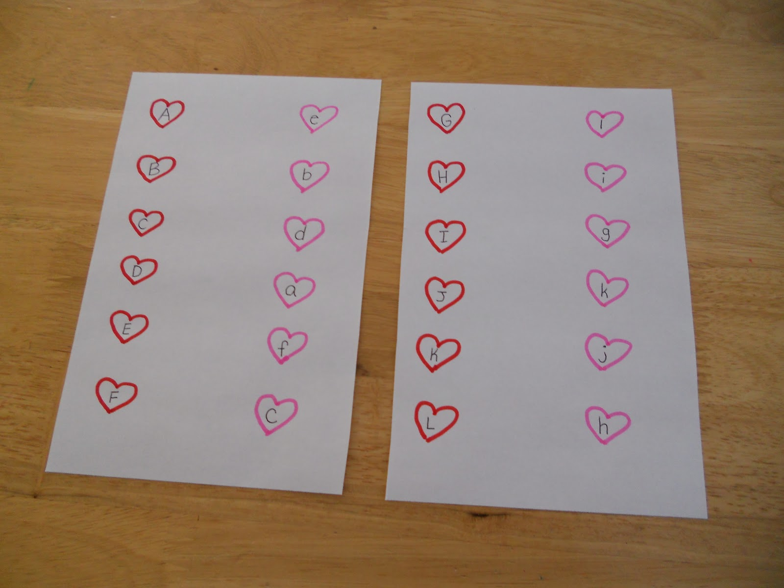 Adventures In Family Preschool Valentine S Activities
