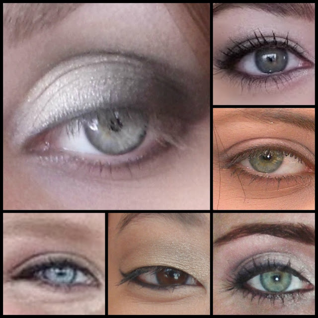 limbal ring eye collage