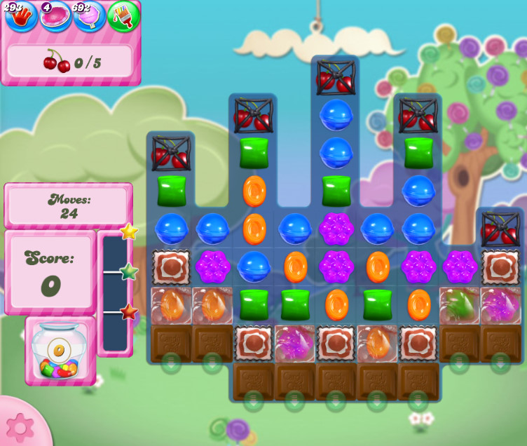 Candy Crush Saga level 2787