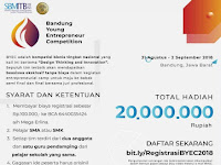 Bandung Young Entrepreneur Competition 2018 di ITB