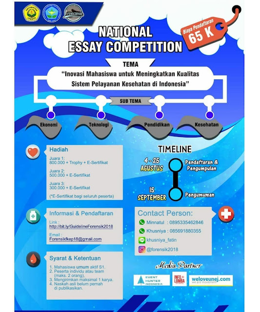 FORENSIK 2018 Lomba National Essay Competition
