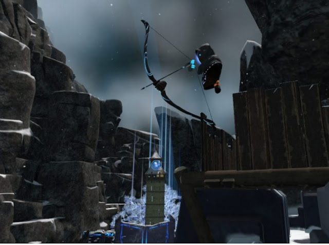 Vidoes Shows SteamVR's Knuckles Controllers Fire A Bow And Arrow in QuiVr technology, technews, tech, gamers, games, steamvr, quivr,