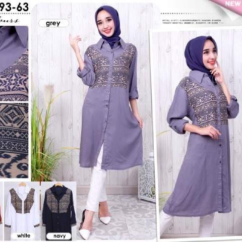 Baju Muslim Ukuran Besar Model Big Size Murah Bj2323