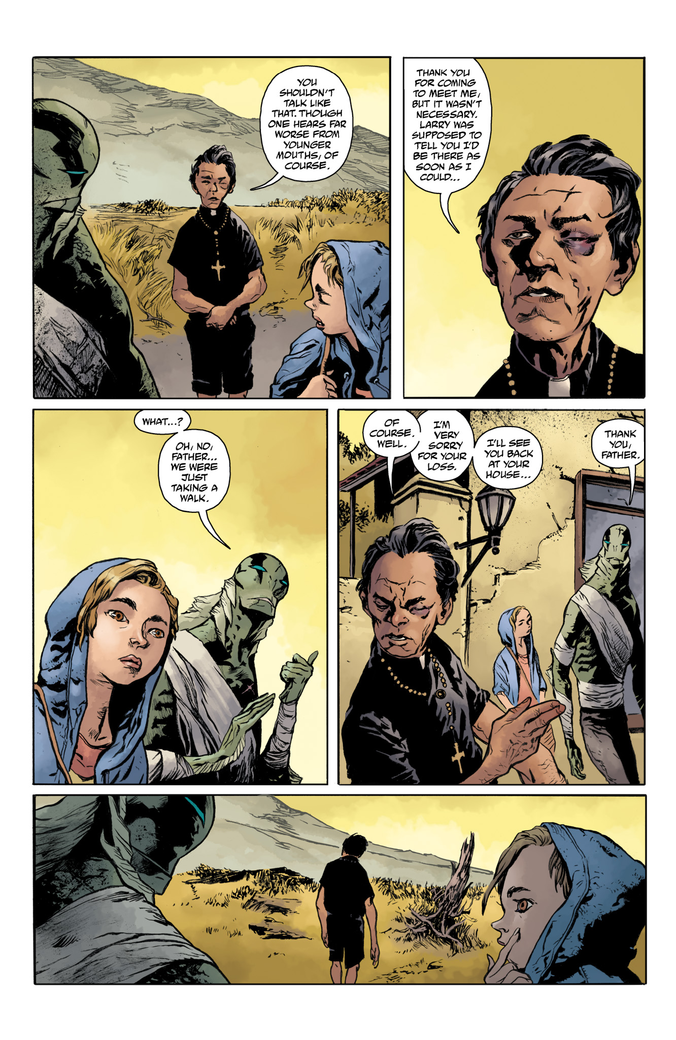 Read online Abe Sapien comic -  Issue #20 - 10