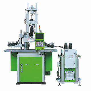 Liquid silicone injection machine
