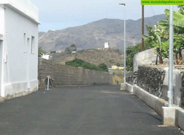 Concluyen las obras de acondicionamiento del Camino Callao en Los Llanos de Aridane