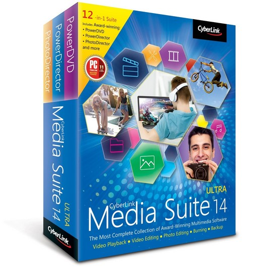 CyberLink Media Suite 14 Ultra 14.0.0819.0 portable poster box cover