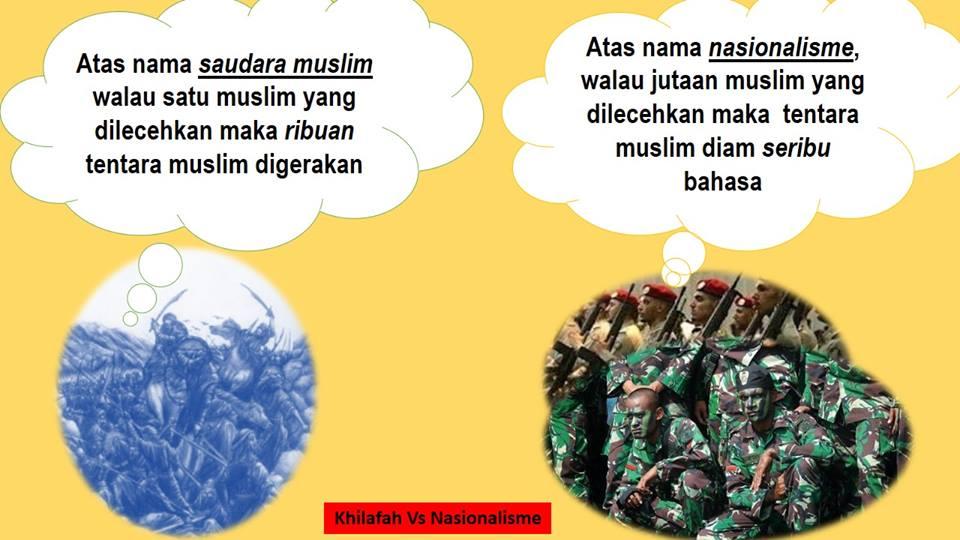 Ukhuwah Islamiyyah VS Nasionalisme