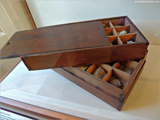Museo de Concord: Caja de Muestras de Henry D. Thoreau