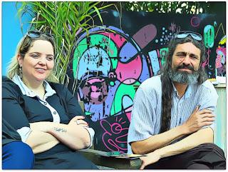Lisiane Berti e Nelson Haas - Bate-papo no Vigésimo Oitavo Festival Internacional de Teatro de Bonecos de Canela