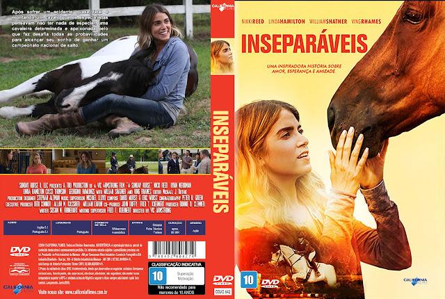 Capa DVD Inseparáveis