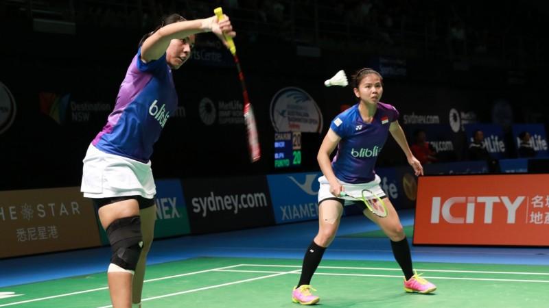 Greysia Polii-Nitya Krishinda Maheswari berhasil ke final Australia Open 2016